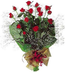 11 adet kirmizi gül buketi özel hediyelik  Rize yurtiçi ve yurtdışı çiçek siparişi