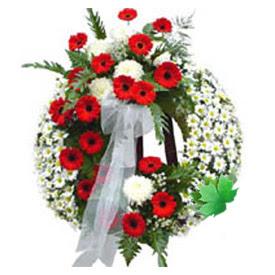 Cenaze çelengi cenaze çiçek modeli  Rize çiçek , çiçekçi , çiçekçilik