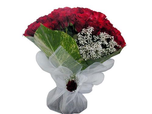25 adet kirmizi gül görsel çiçek modeli  Rize internetten çiçek satışı