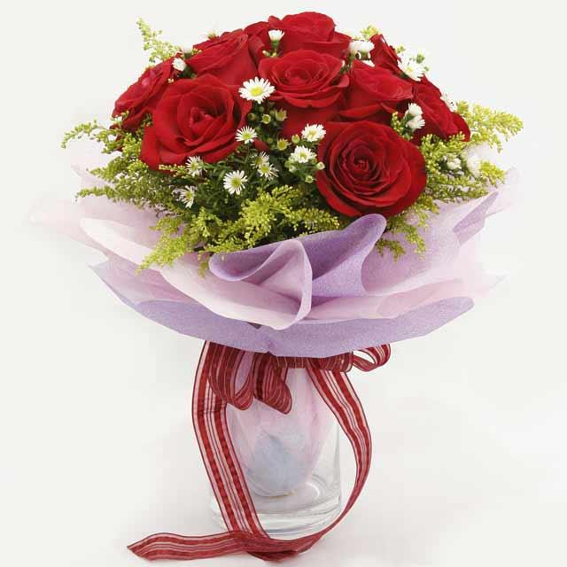 Çiçek gönderme estetikliginiz 11 gül buket  Rize yurtiçi ve yurtdışı çiçek siparişi