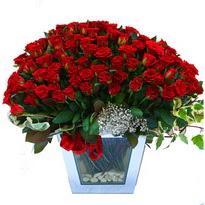 Rize İnternetten çiçek siparişi   101 adet kirmizi gül aranjmani