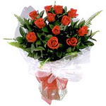 Rize çiçek mağazası , çiçekçi adresleri  9 adet güzel bir gül buketi