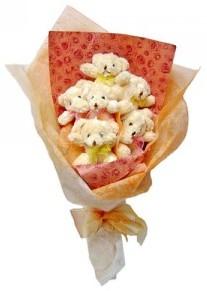 12 adet ayiciktan buket  Rize online çiçekçi , çiçek siparişi