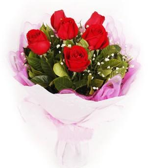 Rize çiçekçi mağazası  kırmızı 6 adet gülden buket