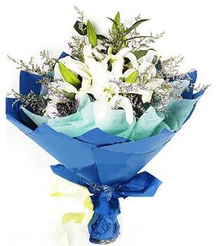Rize hediye çiçek yolla  4 adet dal kazablankadan görsel buket