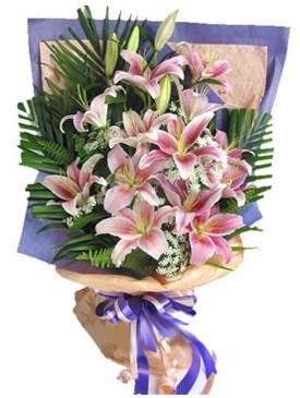 7 dal kazablankadan görsel buket  Rize internetten çiçek siparişi