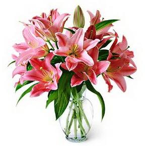 3 dal kazablanka görsel vazosu  Rize çiçek gönderme sitemiz güvenlidir