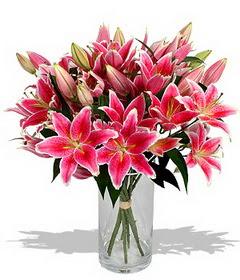 4 dal cazablanca görsel vazosu  Rize yurtiçi ve yurtdışı çiçek siparişi