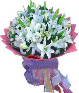 7 dal cazablanca görsel buketi  Rize yurtiçi ve yurtdışı çiçek siparişi