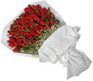Rize uluslararası çiçek gönderme  51 adet kırmızı gül buket çiçeği