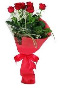 Çiçek yolla sitesinden 7 adet kırmızı gül  Rize çiçek yolla , çiçek gönder , çiçekçi