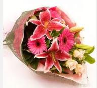 1 dal kazablanka ve mevsim çiçekleri  Rize çiçek gönderme sitemiz güvenlidir