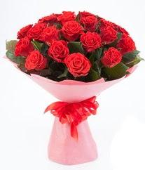 15 adet kırmızı gülden buket tanzimi  Rize online çiçekçi , çiçek siparişi