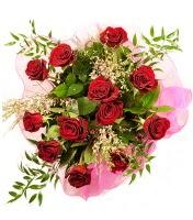 12 adet kırmızı gül buketi  Rize ucuz çiçek gönder