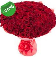 Özel mi Özel buket 101 adet kırmızı gül  Rize hediye çiçek yolla