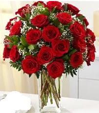 Vazo içerisinde 33 adet kırmızı gül  Rize çiçekçi telefonları