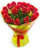 19 Adet kırmızı gül buketi  Rize çiçek yolla