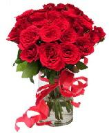 21 adet vazo içerisinde kırmızı gül  Rize çiçek servisi , çiçekçi adresleri
