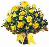 Rize çiçek mağazası , çiçekçi adresleri  Sari gül karanfil ve kir çiçekleri