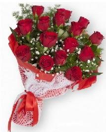 11 kırmızı gülden buket  Rize çiçek siparişi vermek