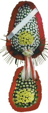 Çift katlı düğün açılış çiçeği  Rize internetten çiçek satışı