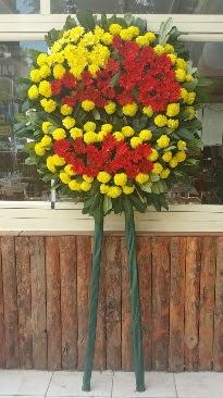 Cenaze çelengi çiçek modeli  Rize çiçekçiler