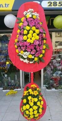 Çift katlı düğün nikah açılış çiçek modeli  Rize çiçek gönderme
