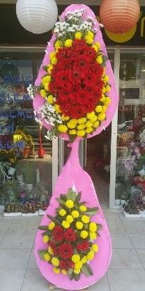 Çift katlı düğün nikah açılış çiçek modeli  Rize İnternetten çiçek siparişi