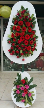 Çift katlı düğün nikah açılış çiçek modeli  Rize çiçek gönderme sitemiz güvenlidir