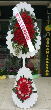 Çift katlı düğün nikah çiçeği modeli  Rize online çiçekçi , çiçek siparişi