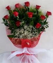 11 adet kırmızı gülden görsel çiçek  Rize çiçek servisi , çiçekçi adresleri