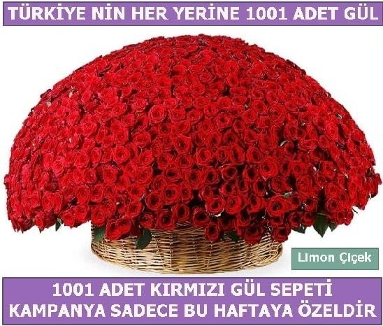 1001 Adet kırmızı gül Bu haftaya özel  Rize uluslararası çiçek gönderme