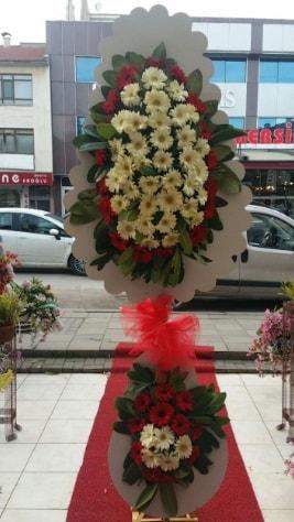 Çift katlı düğün açılış çiçeği  Rize çiçek servisi , çiçekçi adresleri