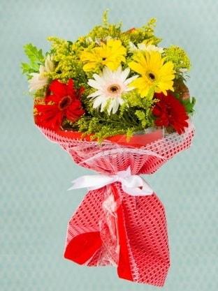Karışık Gelbera Buketi  Rize online çiçekçi , çiçek siparişi