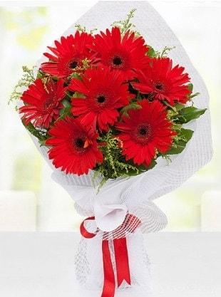 Kırmızı Gelbera Buketi  Rize çiçek gönderme sitemiz güvenlidir