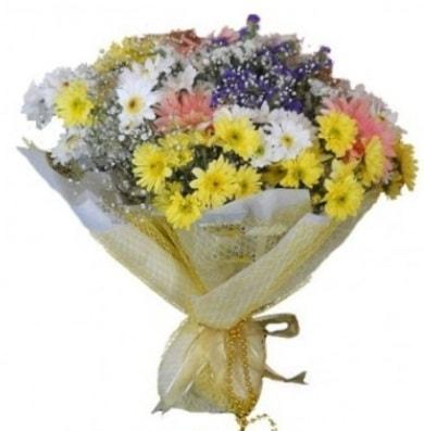 Karışık mevsim çiçeği  Rize çiçek servisi , çiçekçi adresleri