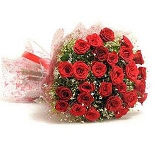27 Adet kırmızı gül buketi  Rize kaliteli taze ve ucuz çiçekler