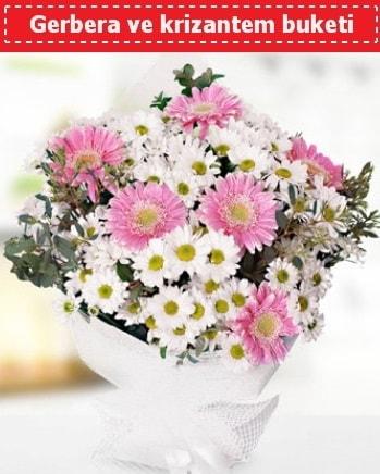 Papatya ve Gerbera Buketi  Rize çiçek mağazası , çiçekçi adresleri