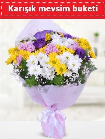 Karışık Kır Çiçeği Buketi  Rize çiçek siparişi vermek