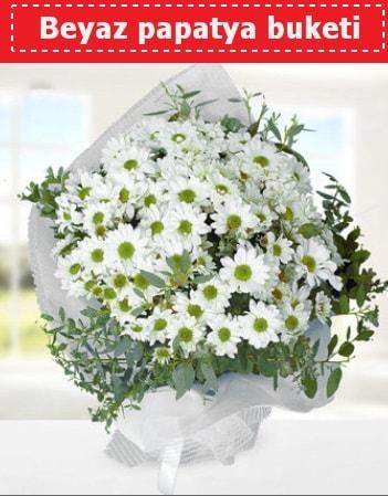 Beyaz Papatya Buketi  Rize ucuz çiçek gönder