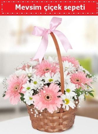 Mevsim kır çiçek sepeti  Rize çiçek mağazası , çiçekçi adresleri