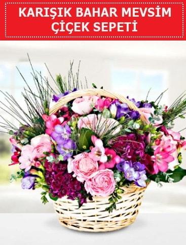Karışık mevsim bahar çiçekleri  Rize kaliteli taze ve ucuz çiçekler