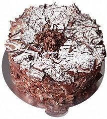 4 Kişilik Parça Çikolatalı yaş pasta